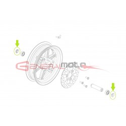 Distanziale perno ruota anteriore