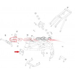Fissaggio anteriore motore 160 4S