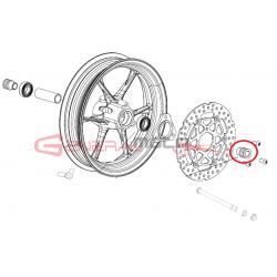 Distanziale laterale ruota anteriore GP-2