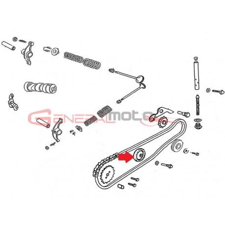 Guida catena distribuzione 110 4S