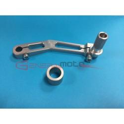 Leva cambio rovesciato alluminio completa GP-0/GP2